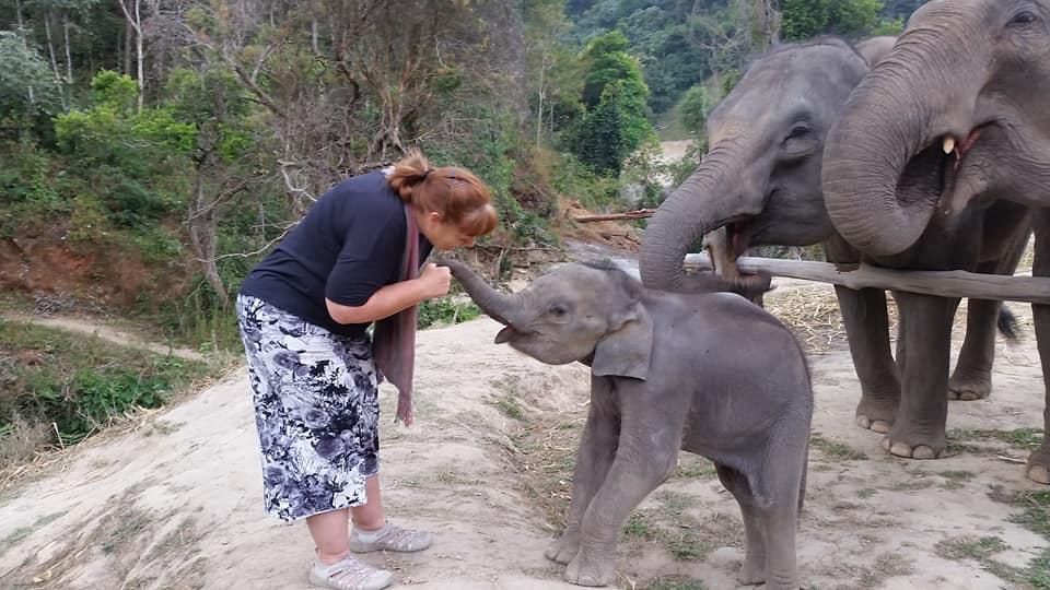Lisa near Chiang Mai Thailand